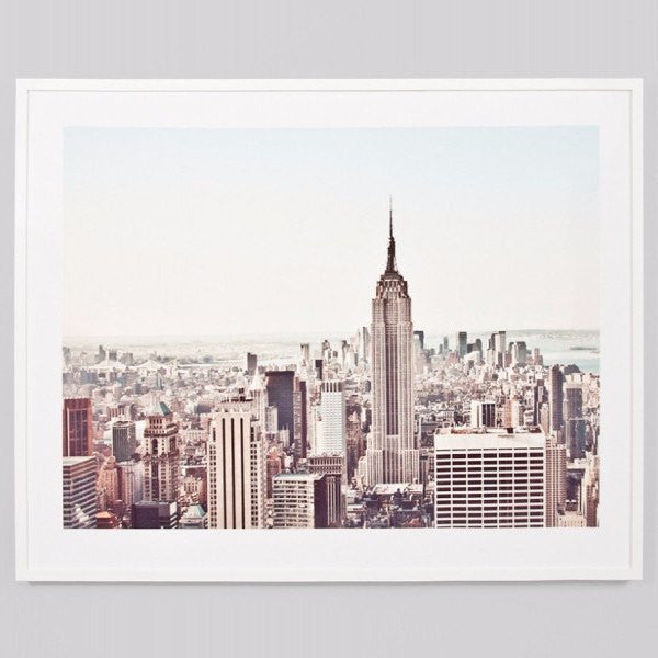 Middle of Nowhere | Framed Print New York Morning | Shut the Front Door