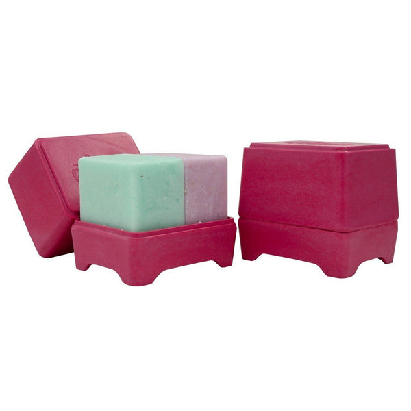 Ethique | In-shower Bar Container - PINK | Shut the Front Door