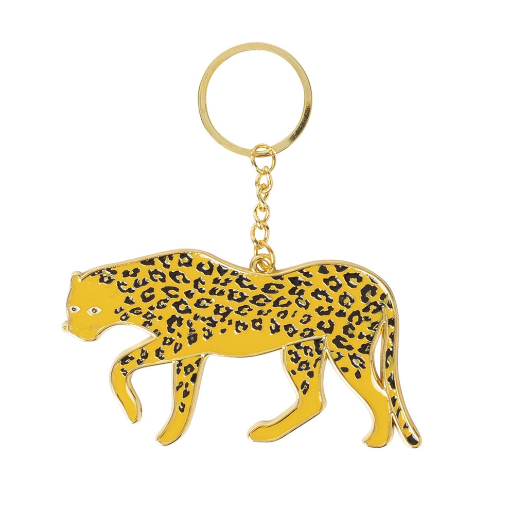 Doiy | Oversized Keyring - Leopard | Shut the Front Door