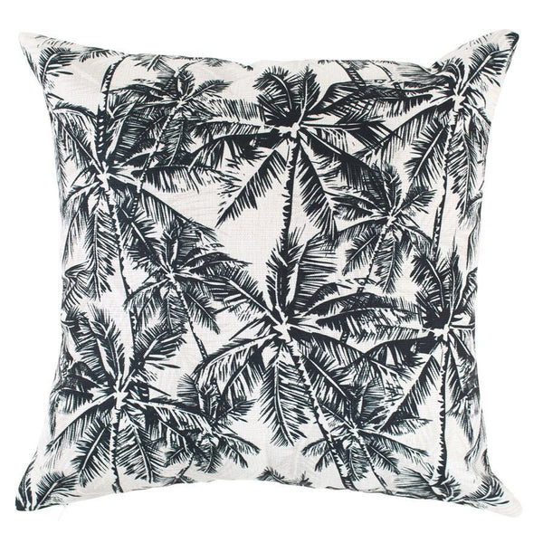 Escape to Paradise | Outdoor Cushion Oasis Mono WHITE | Shut the Front Door