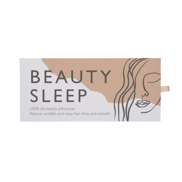 Beauty Sleep | Silk Beauty Pillowcase - Pink | Shut the Front Door