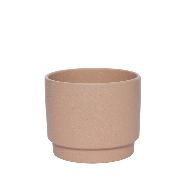 Milk & Sugar | Sawyer Plant Pot Small Ochre | Shut the Front Door