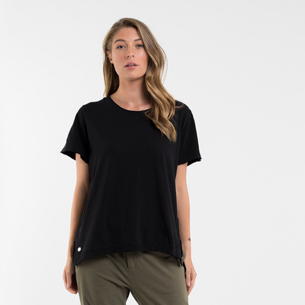 Foxwood | Night Hawk Tee - Black | Shut the Front Door