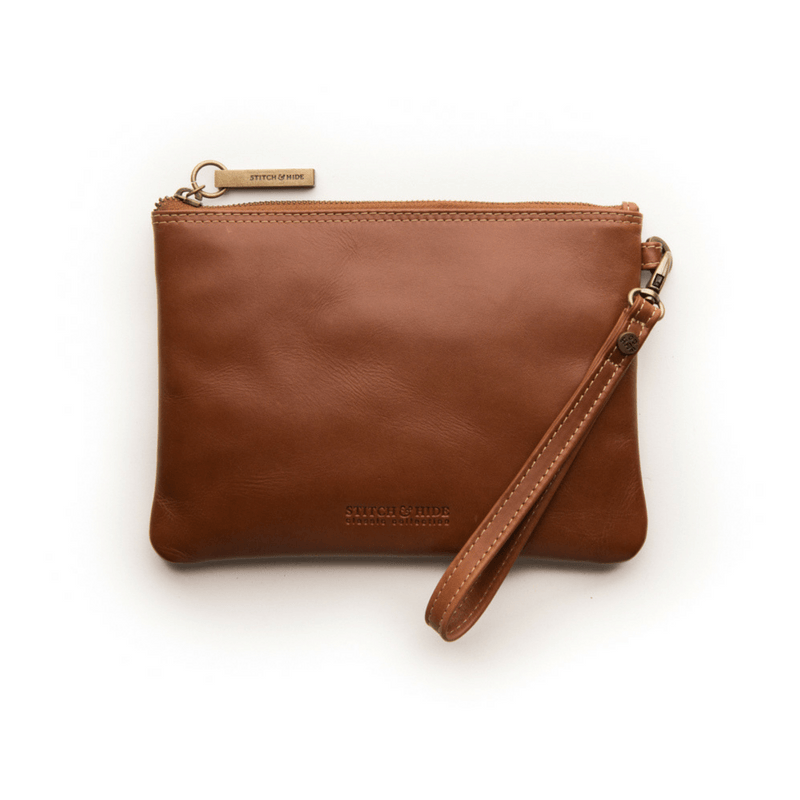 Stitch & Hide | Cassie Classic Clutch MAPLE | Shut the Front Door