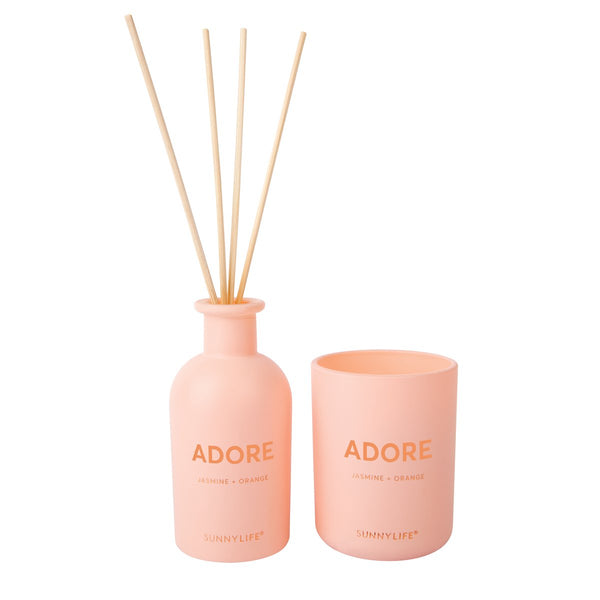 Sunnylife | Candle and Diffuser Set - Adore | Shut the Front Door