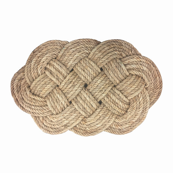 General Eclectic | Doormat Jute Braided Rope | Shut the Front Door