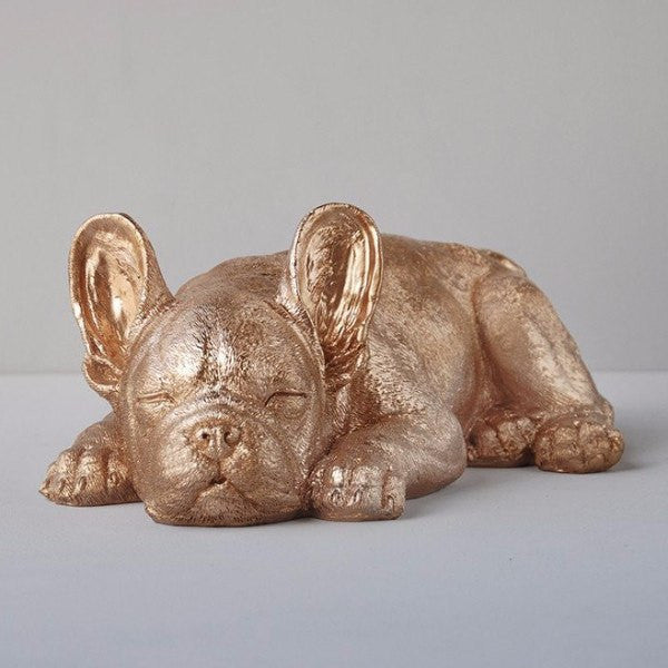 White Moose | Sleeping Frenchie GOLD | Shut the Front Door