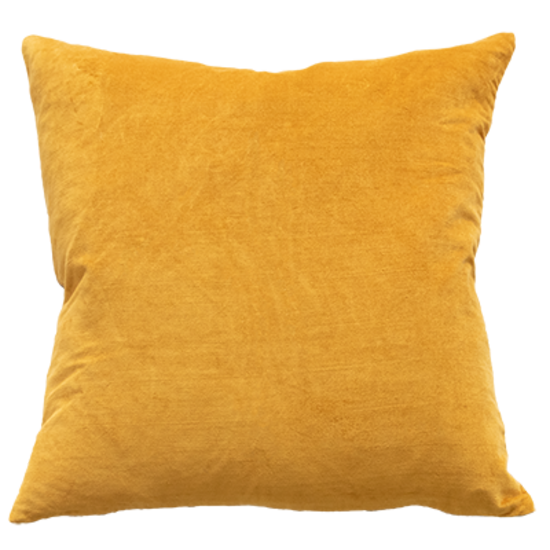 Mulberi | Majestic Velvet Cushion OCHRE 50cm x 50cm | Shut the Front Door