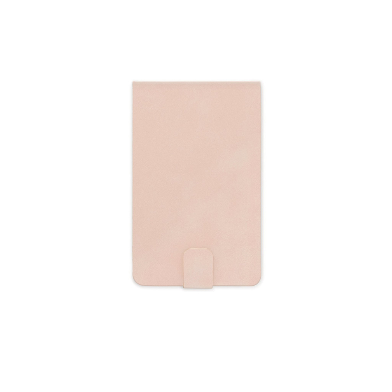 Designworks | Pocket Notepad Vegan Suede - Dusty Pink | Shut the Front Door