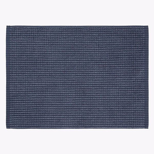 Aura | Bath Mat Waffle DENIM | Shut the Front Door