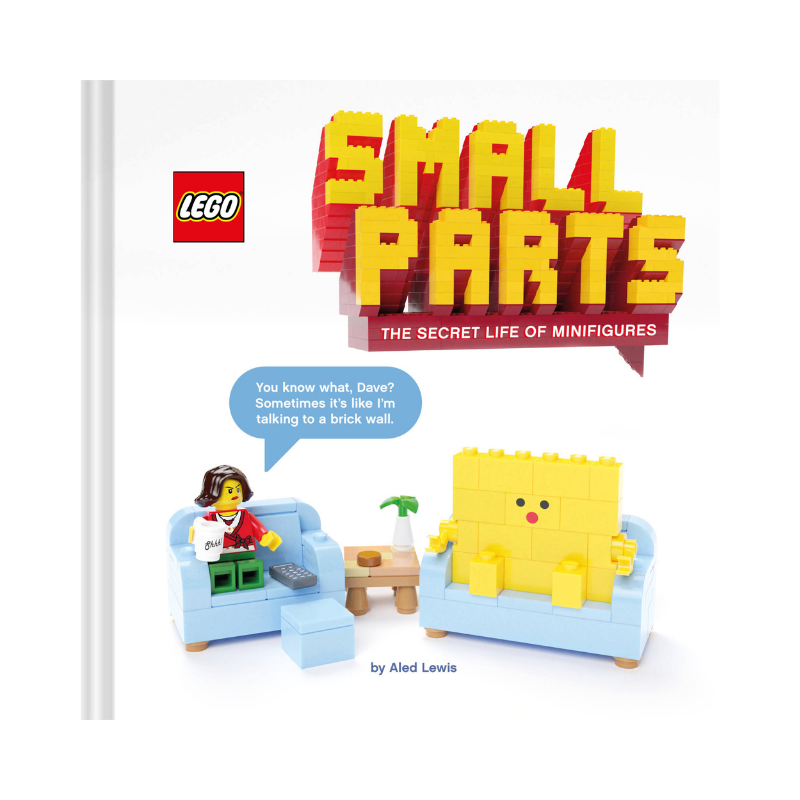 Chronicle Books | Lego Small Parts: The Secret Life of Minifigures | Shut the Front Door
