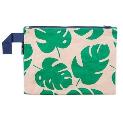 Project Ten | Zip Pouch - Monstera | Shut the Front Door
