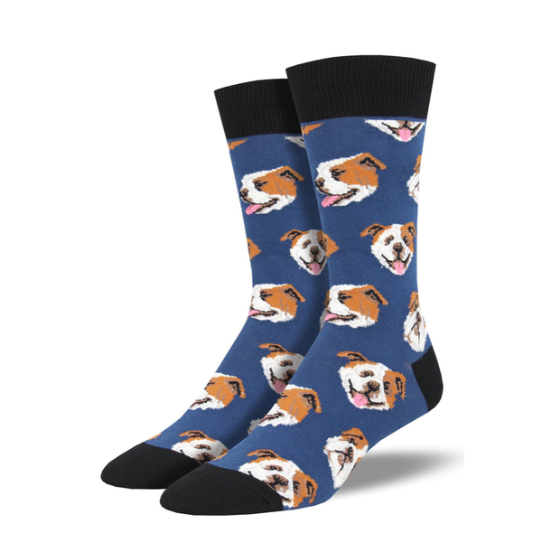 Socksmith | Men's Incredibull Socks - Blue | Shut the Front Door