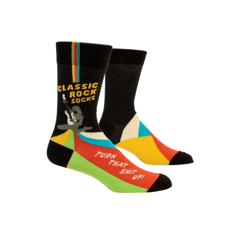 Blue Q | Men's Socks - Classic Rock | Shut the Front Door