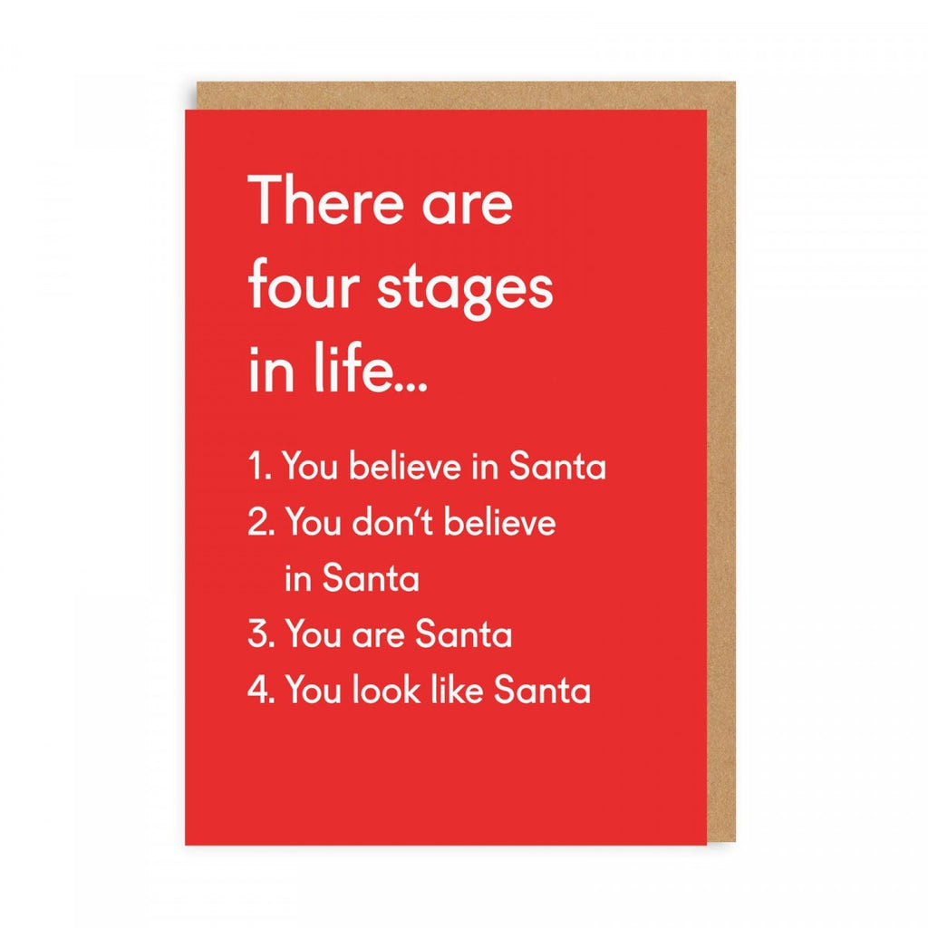Oh Deer | Christmas Card - Four Stages in Life | Shut the Front Door