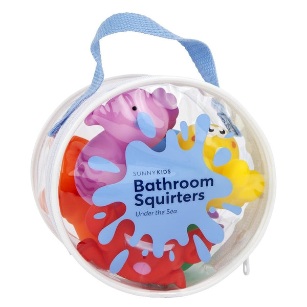 Sunnylife | Bathroom Squirter Toys - Under the Sea | Shut the Front Door