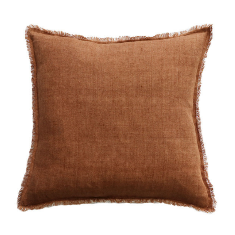 Mulberi | Kendall Cushion 50x50cm - Tobacco/Ivory | Shut the Front Door