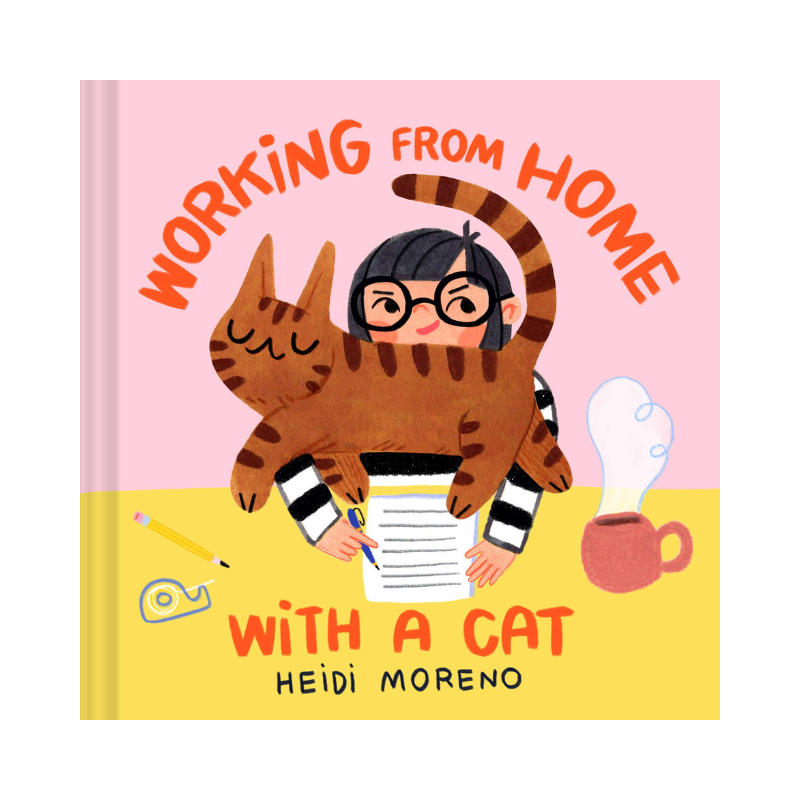 Chronicle Books | Working from Home with a Cat | Shut the Front Door