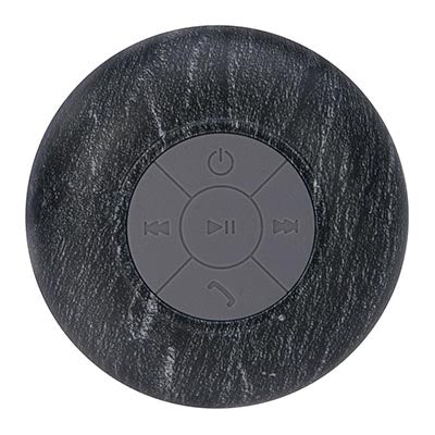 IS Gifts | Wireless Shower Speaker - Natural Charcoal | Shut the Front Door