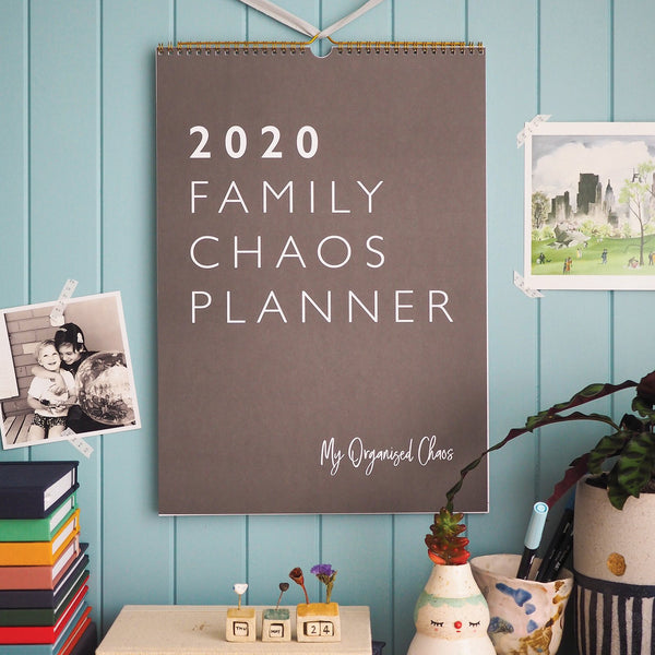 Write to Me Stationery | Family Chaos 2020 Planner | Shut the Front Door