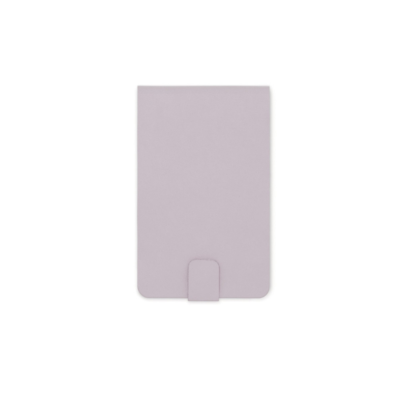 Designworks | Pocket Notepad Vegan Leather - Dusty Lilac | Shut the Front Door