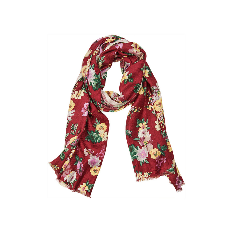 eb & ive | Wanderer Scarf - Plum | Shut the Front Door