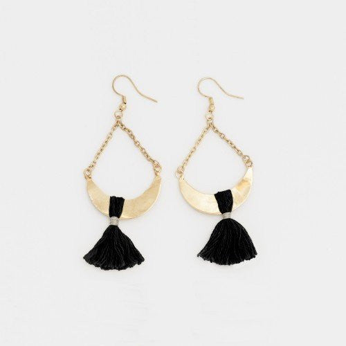 Ruby + Jet | Ainsley Earrings | Shut the Front Door