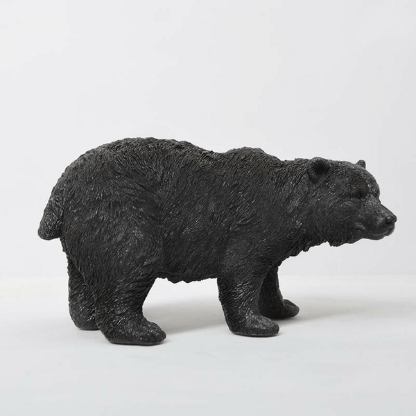White Moose | Bear Money Box - Black | Shut the Front Door