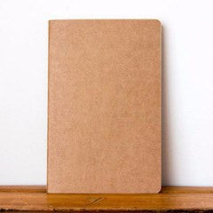 Frank | A5 Notebook Kraft - Blank | Shut the Front Door