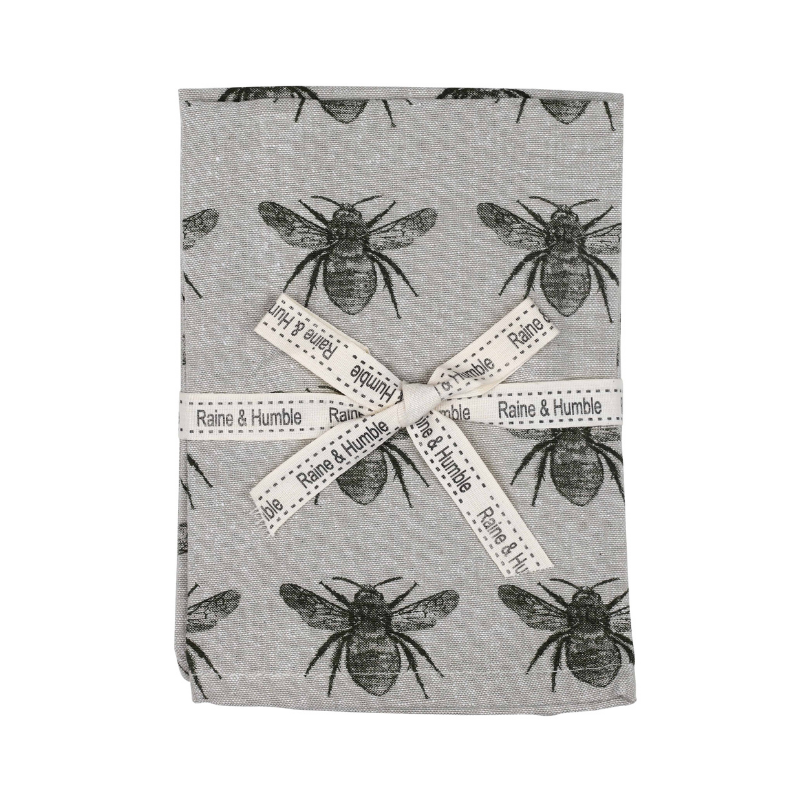 Raine & Humble | Abby Bee Napkin Set 4 - Olive Green | Shut the Front Door