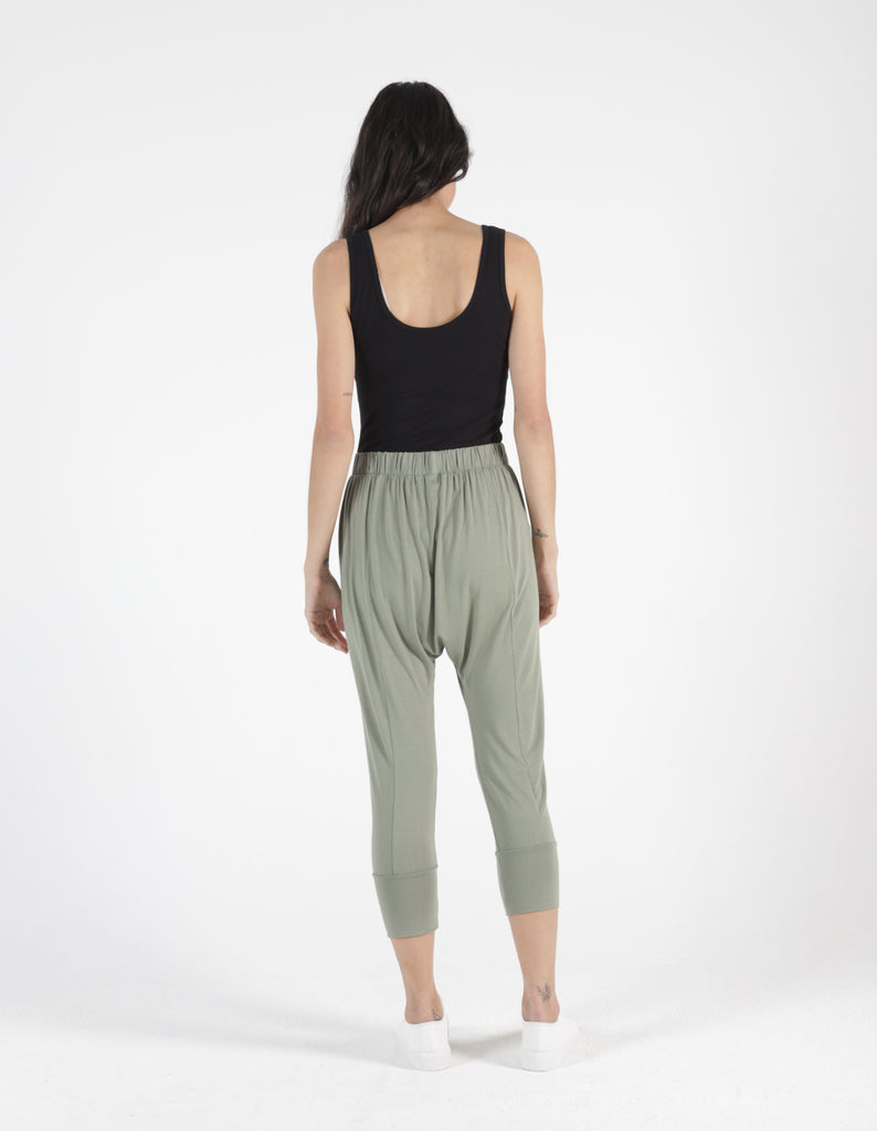 Betty Basics | Soho Pant - Avocado | Shut the Front Door