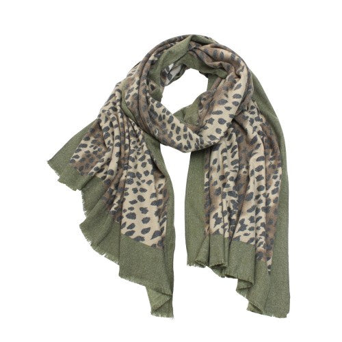 Tiger Tree | Forest Cheetah Scarf | Shut the Front Door