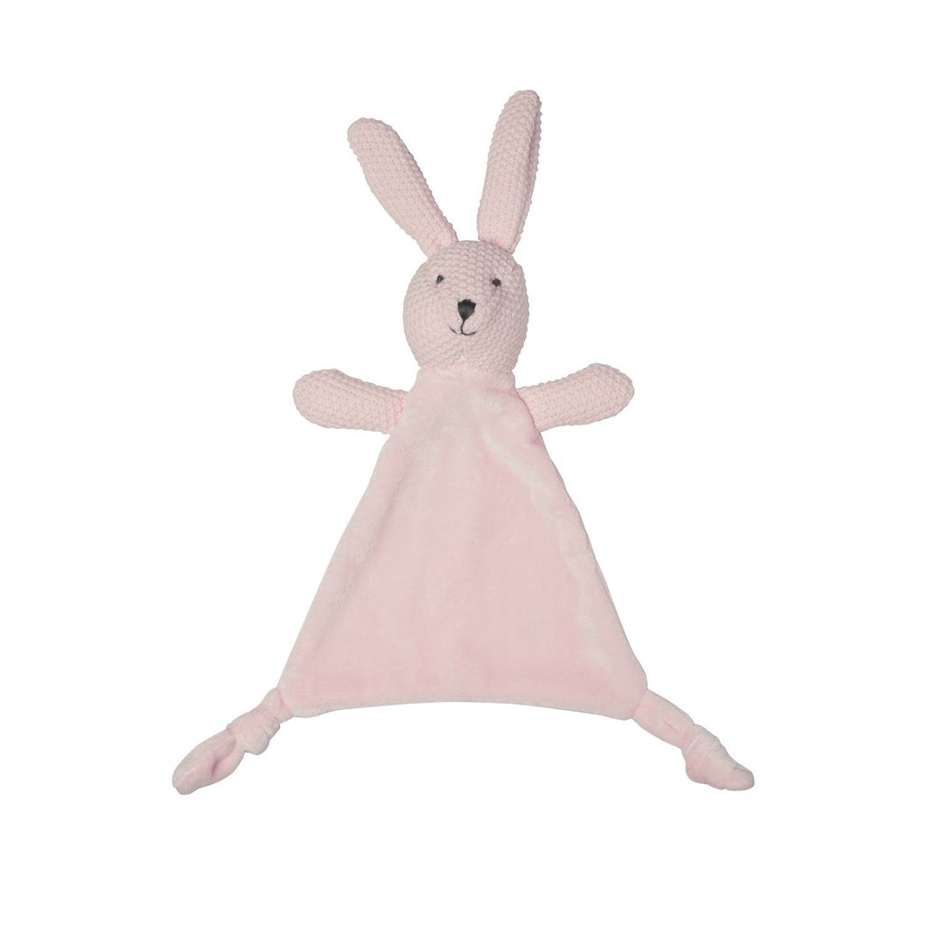 Lily and George | Wild Ones Pink Bunny Comforter | Shut the Front Door