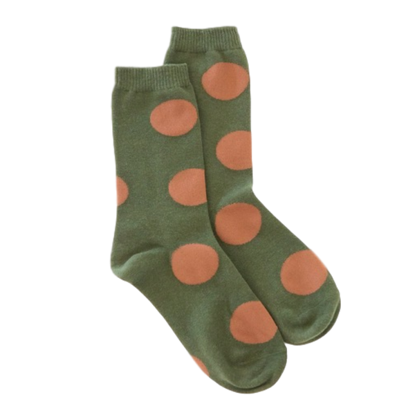 Antler NZ | Spot Sock - Khaki | Shut the Front Door