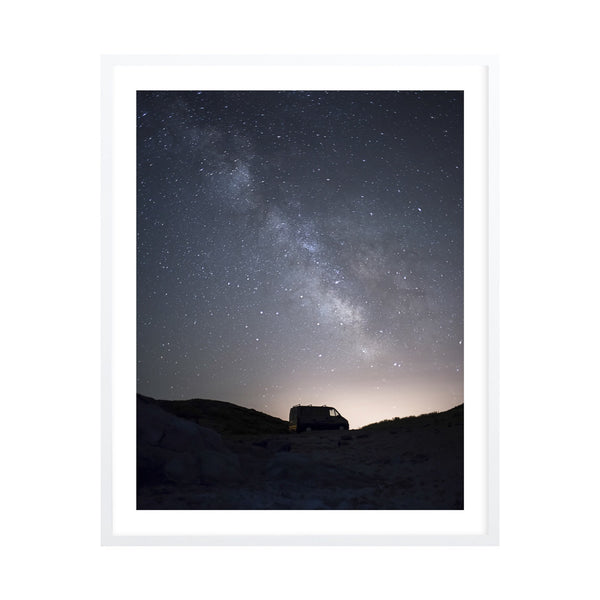 The Milky Way Framed Print