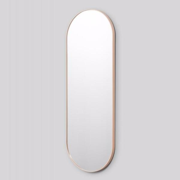 Middle of Nowhere | Bjorn Oval Full Length Mirror - Powder | Shut the Front Door