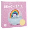 Sunnylife | Inflatable Rainbow Beach Ball | Shut the Front Door