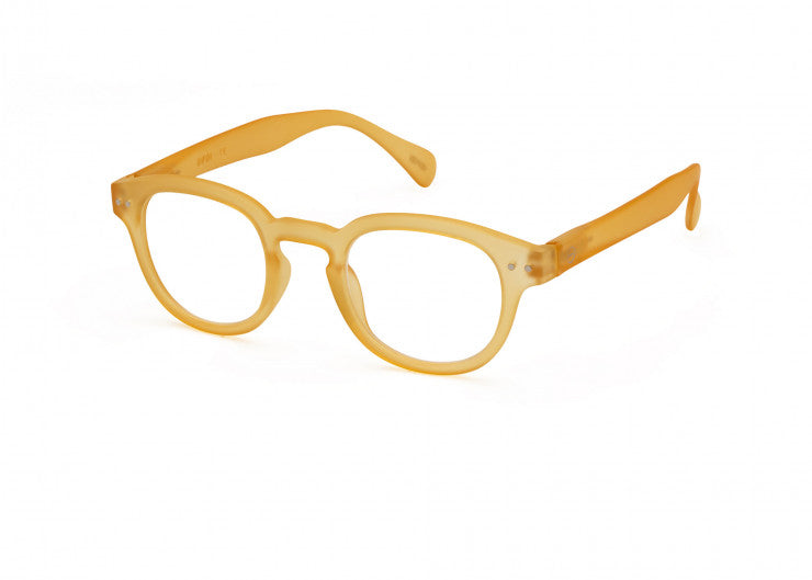 Izipizi | Reading Glasses Collection C Yellow Honey +3 | Shut the Front Door