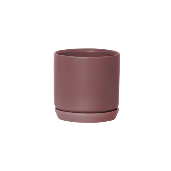General Eclectic | Oslo Planter Rosewood Small | Shut the Front Door