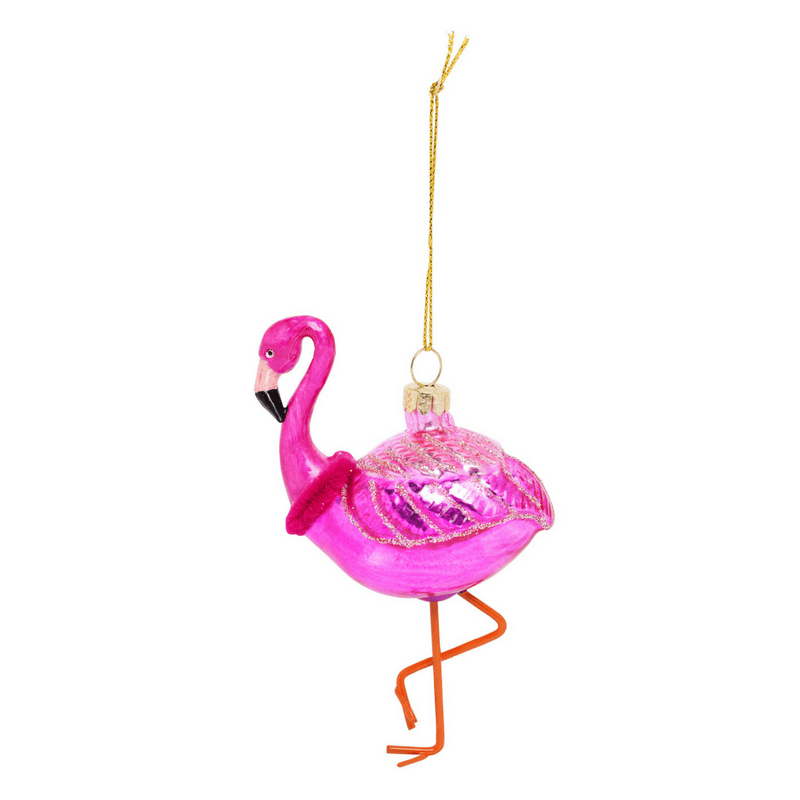 Sunnylife | Festive Ornament Flamingo | Shut the Front Door
