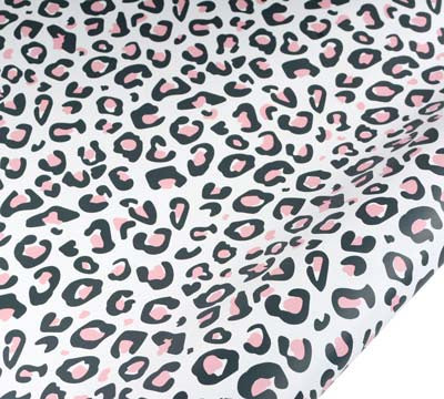 hiPP | Spot The Cat Wrapping Paper - Charcoal & Pink | Shut the Front Door