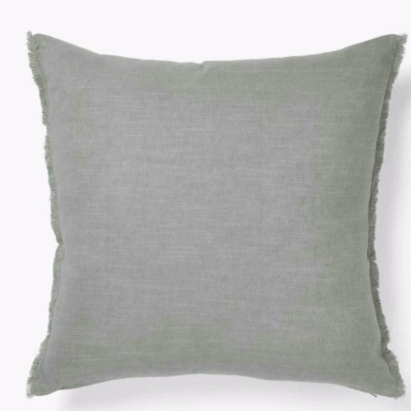 Aura | Aura Fringe Cushion 50x50cm Sage | Shut the Front Door