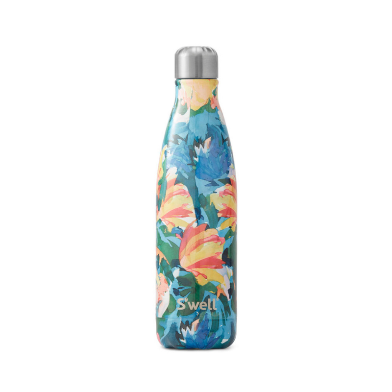 S'Well | S'Well Bottle 500ml Water Colour Floral Collection - Eden | Shut the Front Door