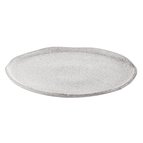 Davis & Waddell | Atacama Round Platter - White Speckle | Shut the Front Door