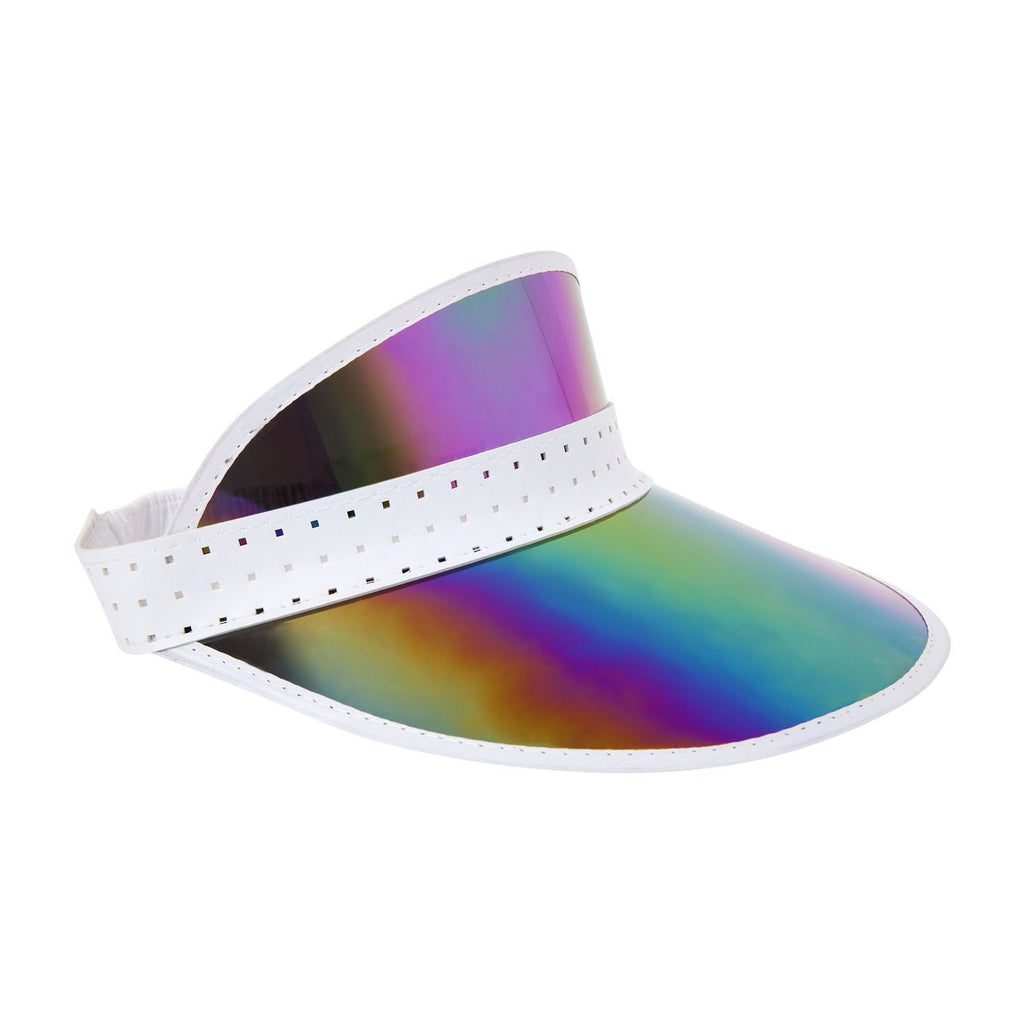 Sunnylife | Retro Sun Visor - Midnight Iridescent | Shut the Front Door