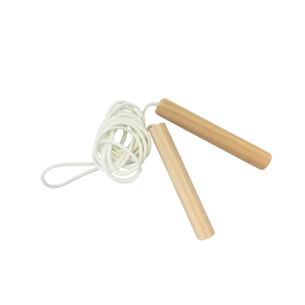 Grove and Willow | Wooden Skipping Rope | Shut the Front Door