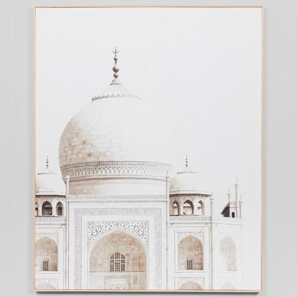 Middle of Nowhere | Framed Canvas - Taj Mahal | Shut the Front Door