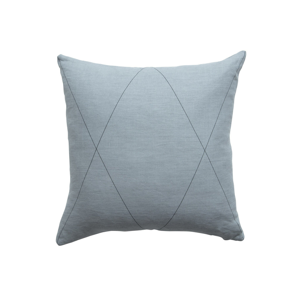 Milk & Sugar | Cushion Cross 50cm GREY | Shut the Front Door
