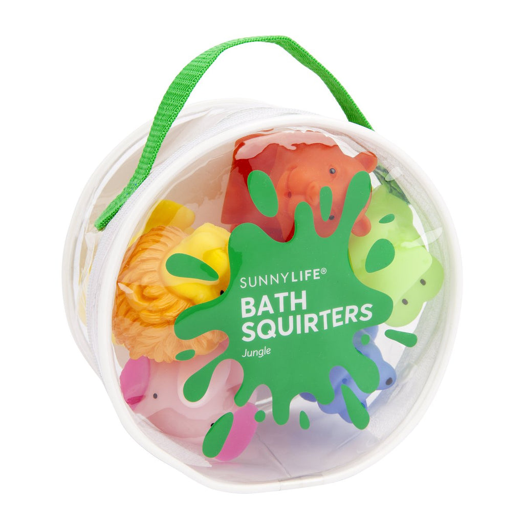 Sunnylife | Bath Squirters - Jungle Set of 6 | Shut the Front Door