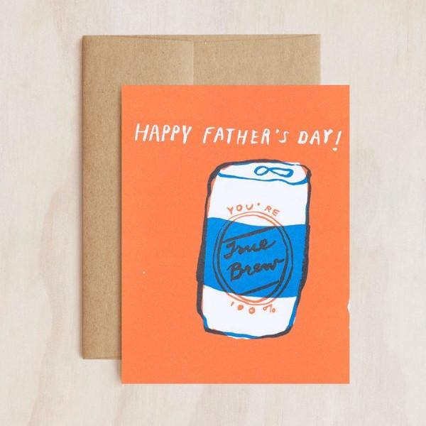 Egg Press | Card True Brew Father's Day | Shut the Front Door